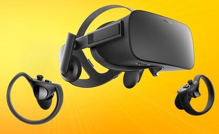 Las Oculus Rift y Oculus Touch bajan de precio notablemente: están a 449 euros