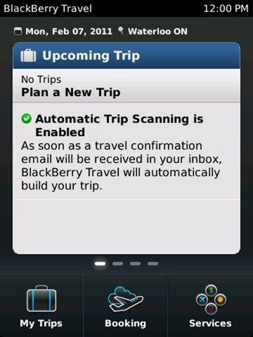 BlackBerry Travel, todo lo que debes saber sobre tus viajes en un sólo programa