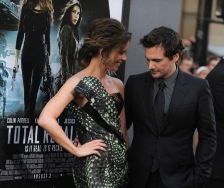 "Kate Beckinsale y Jessica Biel presentan ""Total Recall"" en Los Ángeles"