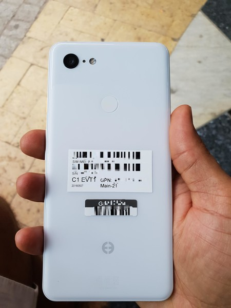 Google Pixel 3 Xl Filtracion Blanco