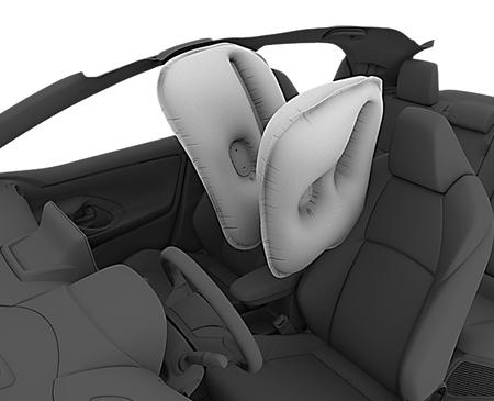 Toyotayariscentreairbag