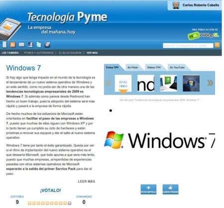 Tecnología Pyme 2.0, toda la información sobre la tecnología en tu empresa