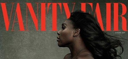 Serena Williams enseña tripa en portada, al igual que hicieron estas 9 famosas