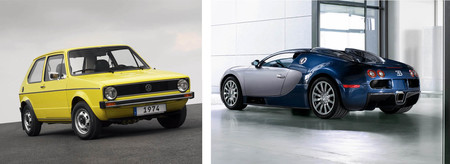 ¿Qué tienen en común un Volkswagen Golf I, un Renault 25 V6 y un Bugatti Veyron?