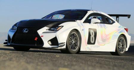 Lexus estará en Pikes Peak con un RC F GT Concept