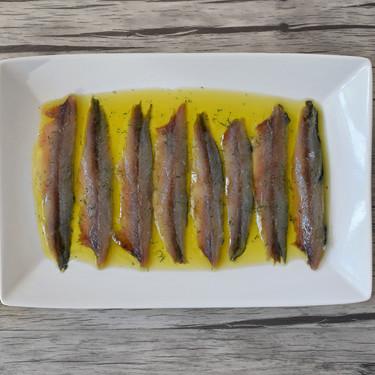 Receta de anchoas caseras en salazón