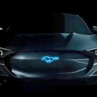 ¿Esta es la primera imagen del Mustang híbrido? Eso dejó ver Ford en un video promocional