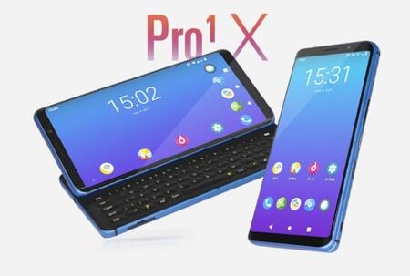 XDA Pro1-X quiere ser el primer smartphone con LineageOS (¡o Ubuntu!) preinstalado, pero se enfrenta al reto del crowdfunding