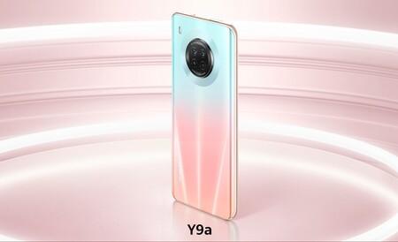 Huawei Y9a de oferta por el Buen Fin 2020