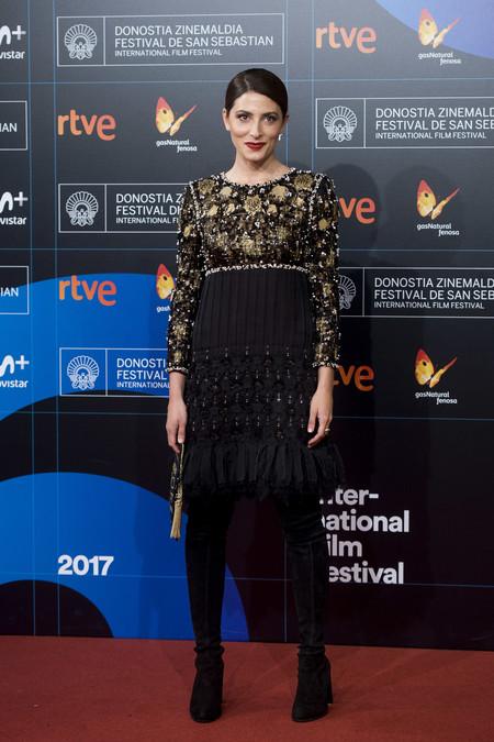 barbara lennie festival cine san sebastian look estilismo outfit alfombra roja chanel