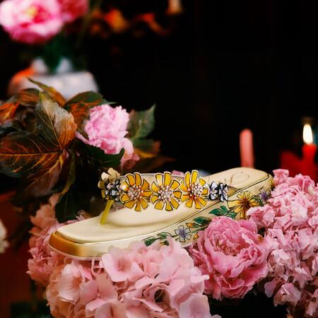 Vivier Flower Slide Product Of The Season