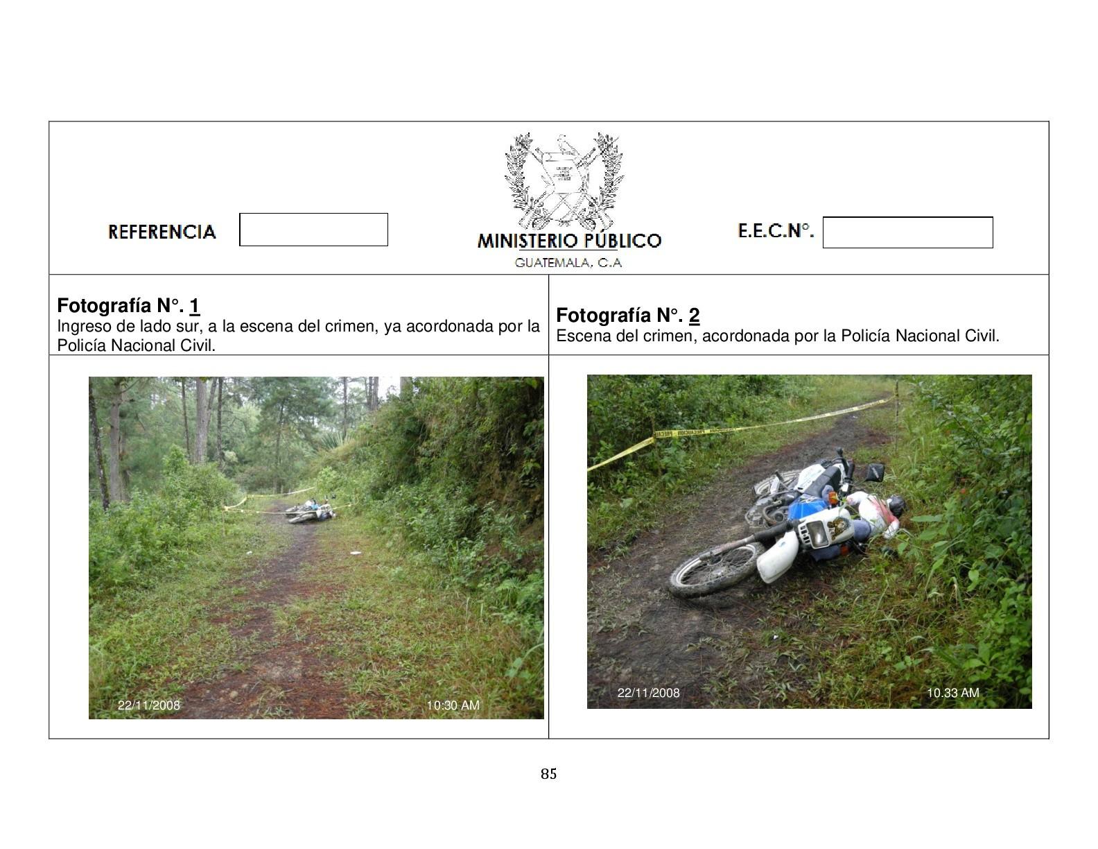 Foto de Simulación balacera contra motorista (3/12)
