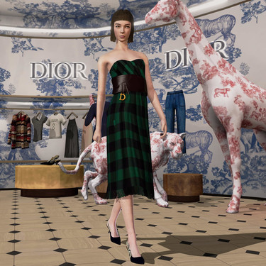 Dior, Prada o Gucci podrían tener más negocio en el mundo virtual que en el real vendiendo sus prendas en videojuegos (y hay gente dispuesta a comprarlas)