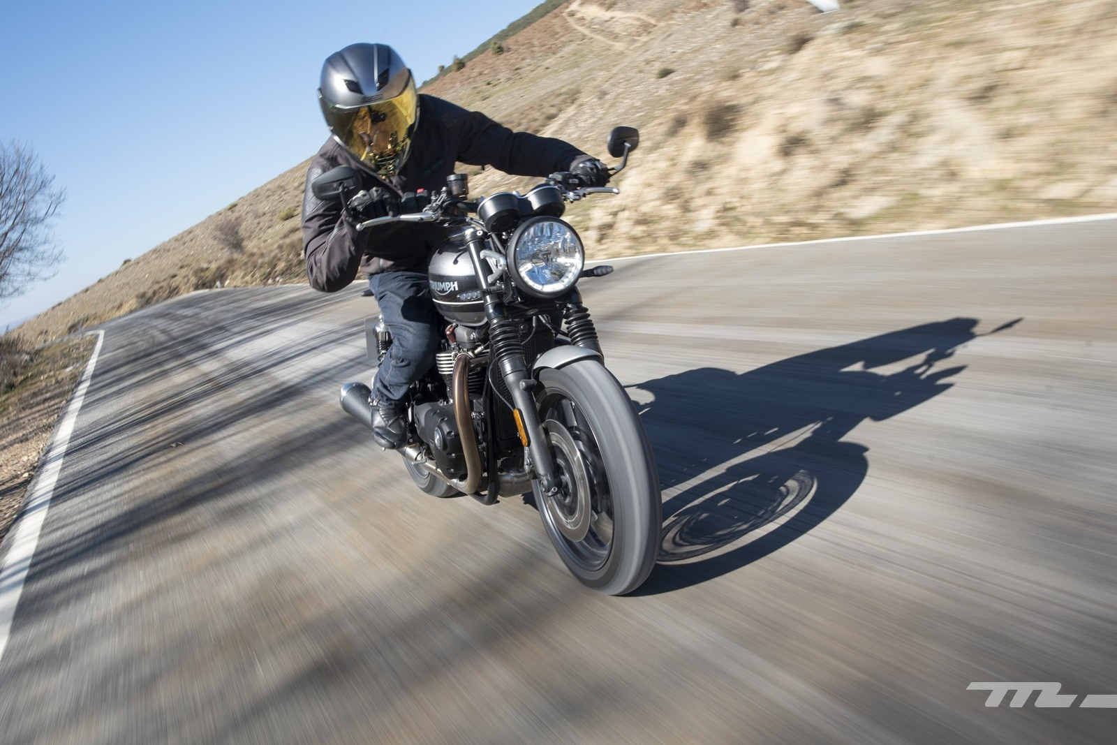 Foto de Triumph Speed Twin 2019, prueba (8/80)