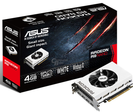 Asus Radeon R9 Nano White Package