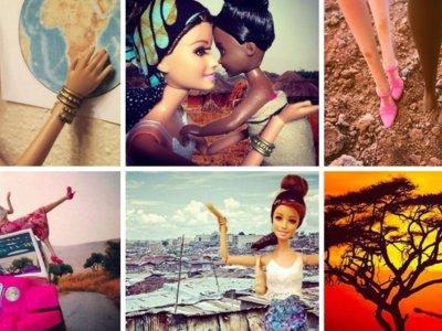 La 'Barbie Salvadora' y su crítica disfrazada de sátira a los voluntarios en África