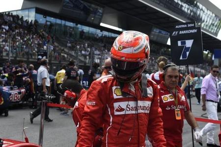 Kimi Räikkönen podría decir adiós a la Fórmula 1 a finales de 2015