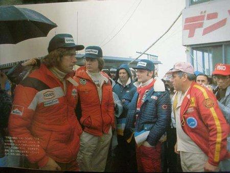 Pilotos de F1 Japon 1976