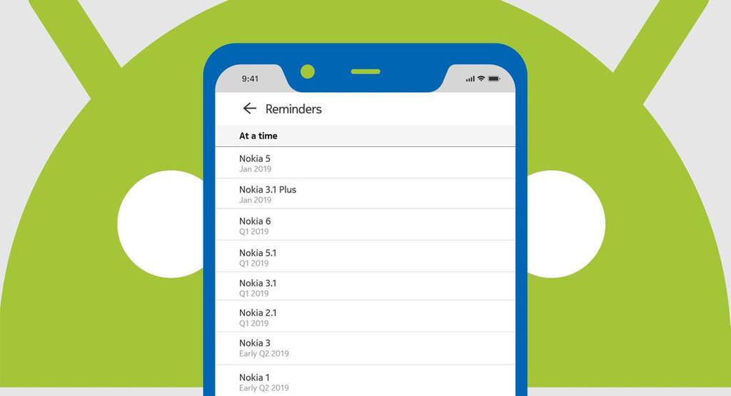 Nokia detalla qué prototipos actualizarán a ©Android Pie y cuándo