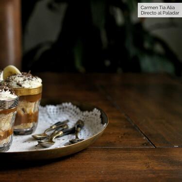 Vasitos de plátano y dulce de leche sin horno, receta fácil y rápida lista en 15 minutos