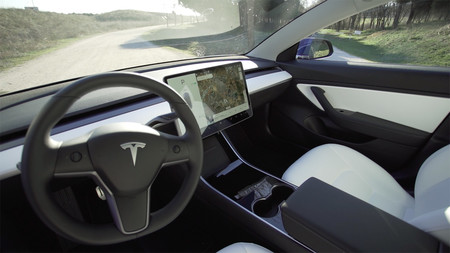 Interior Tesla Model 3 Xtk