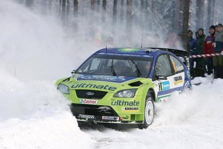 Como nieve caída del cielo...(o ¡que no suspendan el Rally de Suecia!)