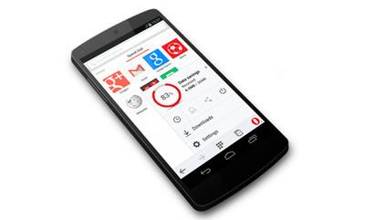 Opera Mini beta para Android se actualiza, ahora es mucho más ligero