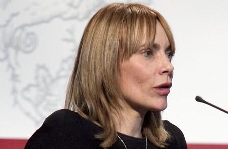 Dinar Cambra Amb La Presidenta De Microsoft Iberica Maria Garana 25 De Febrer De 2010 Cropped