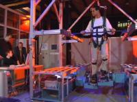 Haptic Walker, máquina para sostener y ayudar en la rehabilitación de las personas que han sufrido un ACV