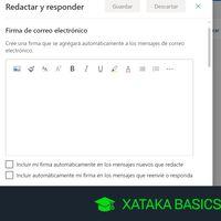 Cómo configurar y agregar una firma en Outlook
