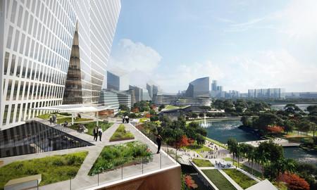 Tencent no se conforma con oficinas para sus empleados: así es Net City, la futurista ciudad que construirán en Shenzhen
