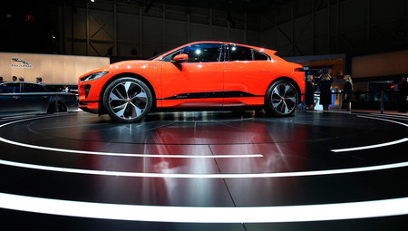 Jaguar I-Pace, Salón de Ginebra 2018