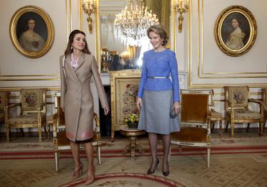 Qué difícil se lo pone siempre Rania a las otras reinas