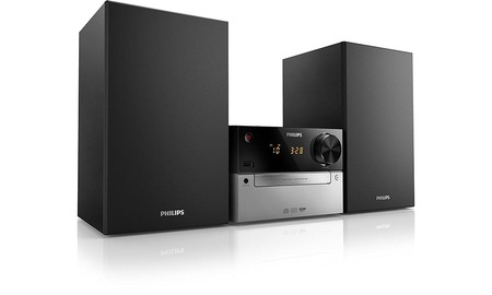 Mediamarkt te vuelve a ofrecer una microcadena básica como la Philips MCM2300/12 por sólo 69 euros esta semana
