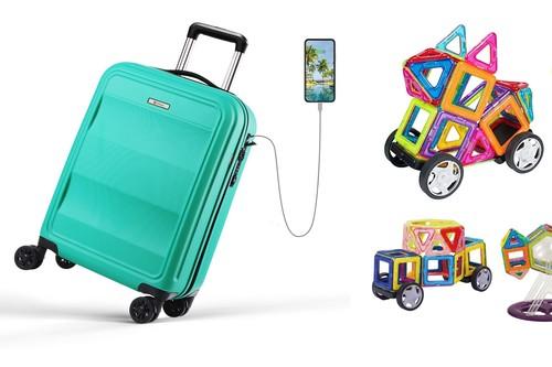 7 cupones de descuento en Amazon para ahorrar en maletas, juguetes, bombillas inteligentes o fotografía