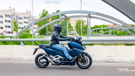 Honda Forza 750 2021 Prueba 010