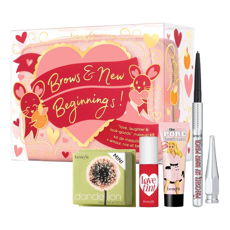 BENEFIT COSMETICS Brows and new Beginnings Cofre de maquillaje para el tono y cejas