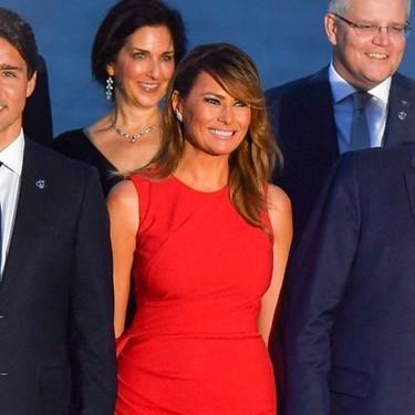 Duelo de estilo entre Melania Trump y Brigitte Macron en Biarritz