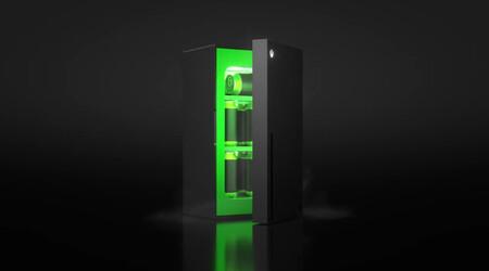Microsoft ya tiene un frigorífico con forma de Xbox Series X: la realidad termina superando a la ficción