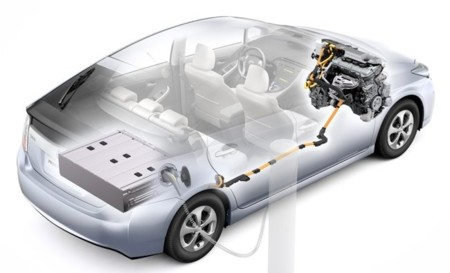 Toyota Prius Plug-in Hybrid transparencia