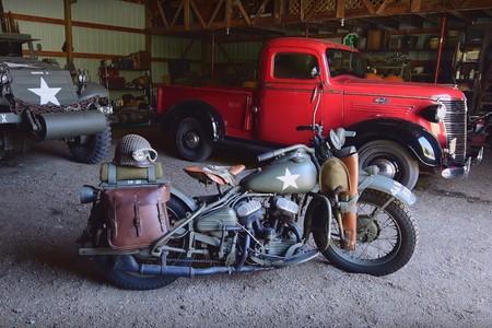 Este era el tedioso proceso para arrancar una Harley-Davidson en la II Guerra Mundial