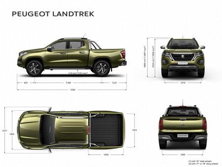 Peugeot Landtrek: precios, versiones y equipamiento en México 8