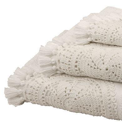 toallas con ganchillo zara home