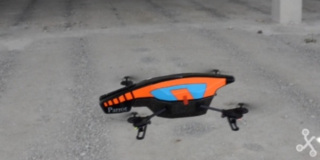 AR Drone en vuelo
