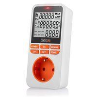 Cupón de descuento de 10 euros en el medidor de energía Tacklife-MPM02: aplicándolo cuesta 14,99 euros en Amazon