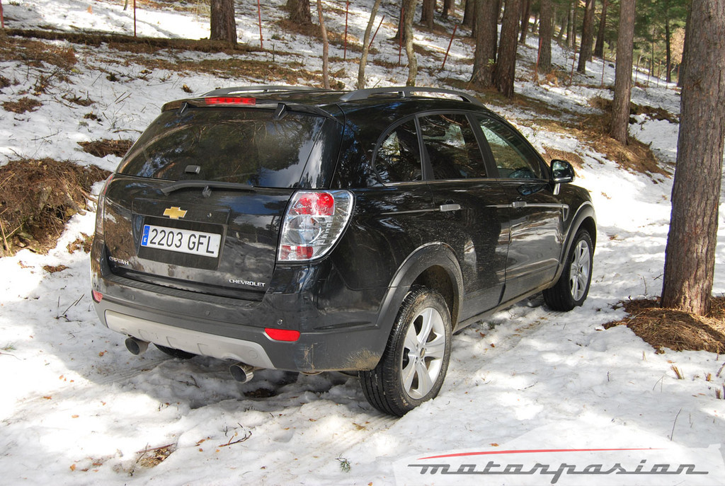 Chevrolet Captiva Sport (prueba)