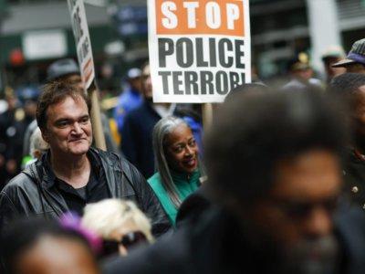 La policía contra Quentin Tarantino