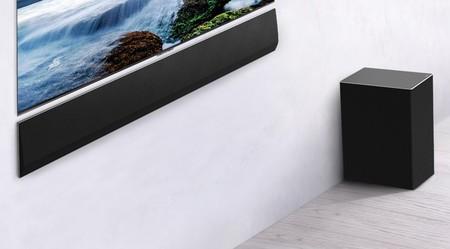 LG presenta la GX Soundbar, su nueva barra de sonido de enormes proporciones compatible con Dolby Atmos y DTS:X