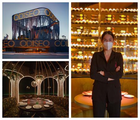 Sandra Rausell Sumiller De Odiseo Uno De Las Mesas Del Restaurante Y El Exterior