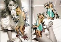 Amber Valetta en la nueva campaña de Stella MacCartney